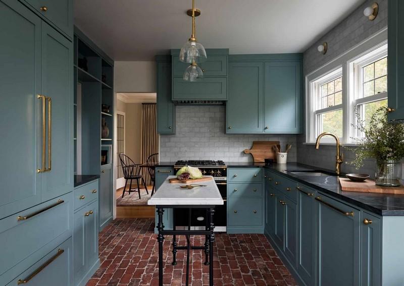 interior designers The Best Interior Designers of Seattle Heidi Caillier Design Seattle interior designer PNW Tudor kitchen remodel
