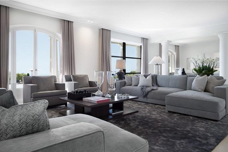 interior designers The 15 Best Interior Designers of Cannes interior design villa 5