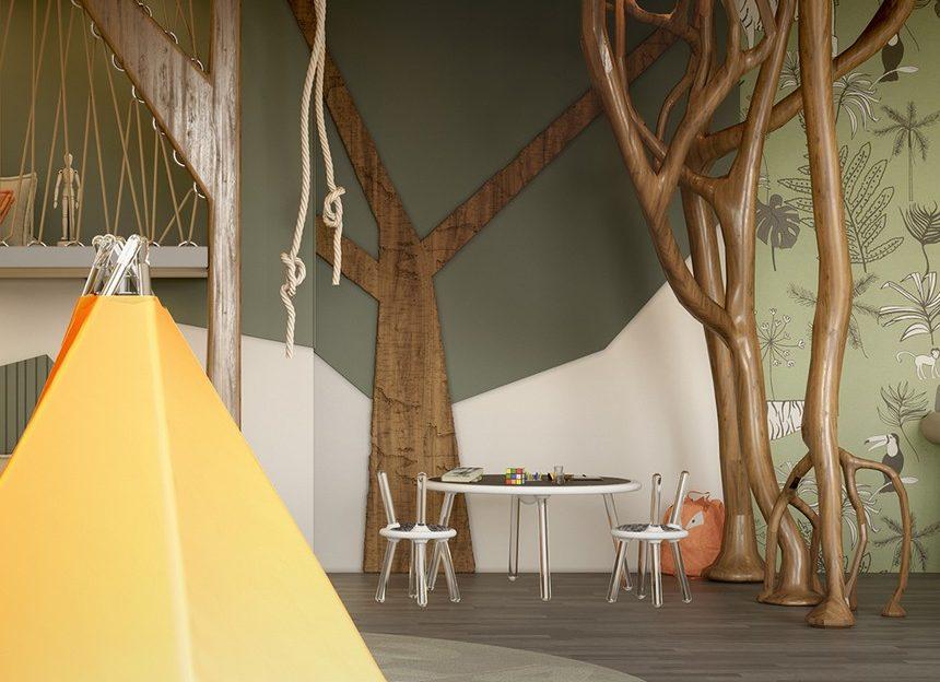Let Us Show You An Amazing Jungle Theme Kids Room Inspired by Nature kids room Let Us Show You An Amazing Jungle Theme Kids Room Inspired by Nature Let Us Show You An Amazing Jungle Theme Kids Room Inspired by Nature 4 860x624