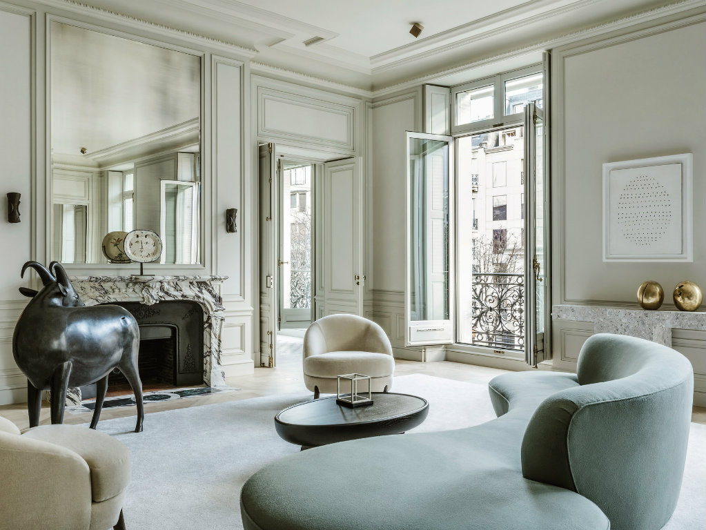 Contemporary Design Projects by Joseph Dirand joseph dirand Contemporary Design Projects by Joseph Dirand Paris Apartment