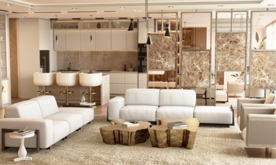 Freshly Designed Pieces: The Latest Take on Modern Design Living Modern Minimal Design Ideas for a Luxury Home 4 570x340