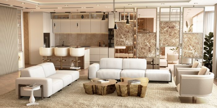Freshly Designed Pieces: The Latest Take on Modern Design Living Modern Minimal Design Ideas for a Luxury Home 4