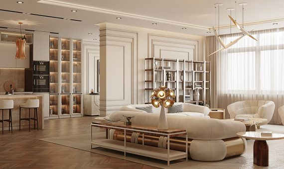 Monaco Caffe latte  Multi-Million Dollar Homes: The World's Most Exclusive Interiors ambience 1 caffe latte our house 570x340