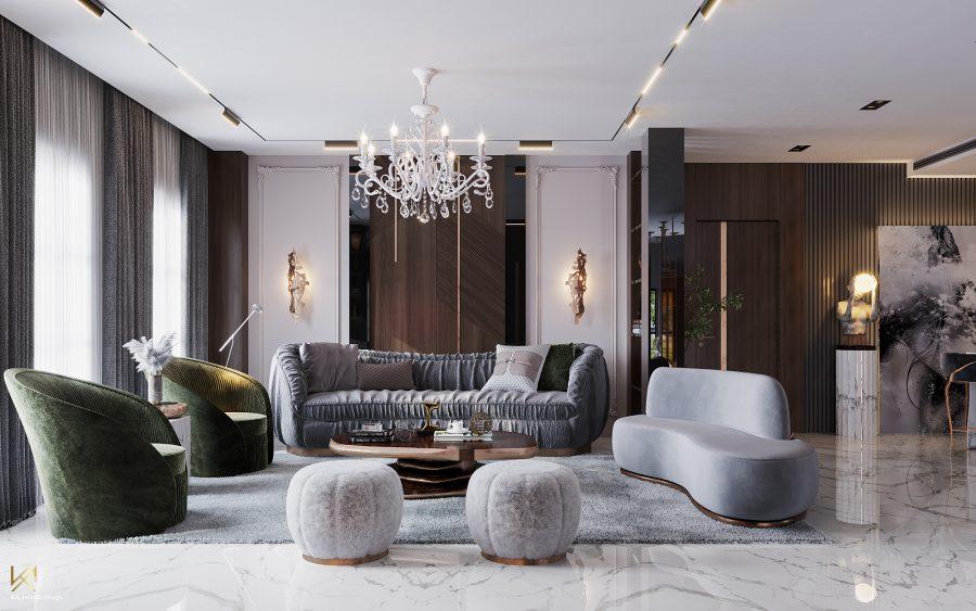 modern classic villa Covet House x K.A Interior Design: Step Inside This Modern Classic Villa 12