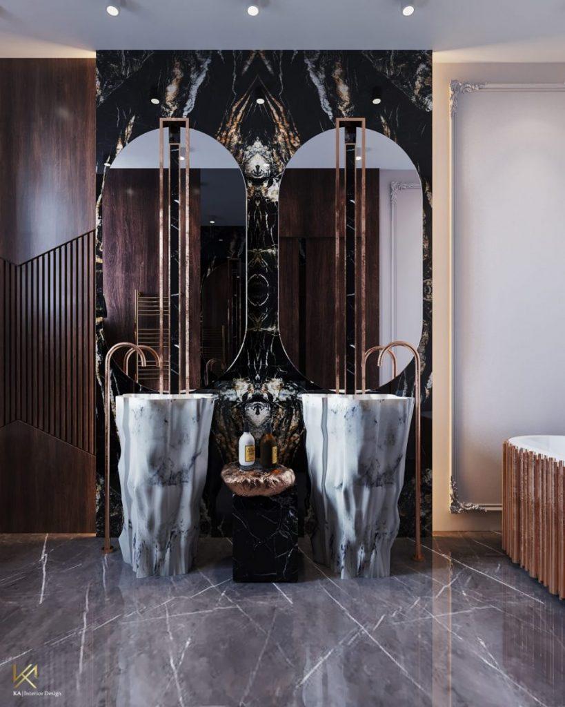 modern classic villa Covet House x K.A Interior Design: Step Inside This Modern Classic Villa 15 scaled