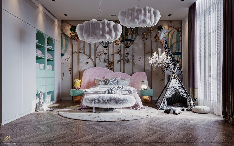 modern classic villa Covet House x K.A Interior Design: Step Inside This Modern Classic Villa 29