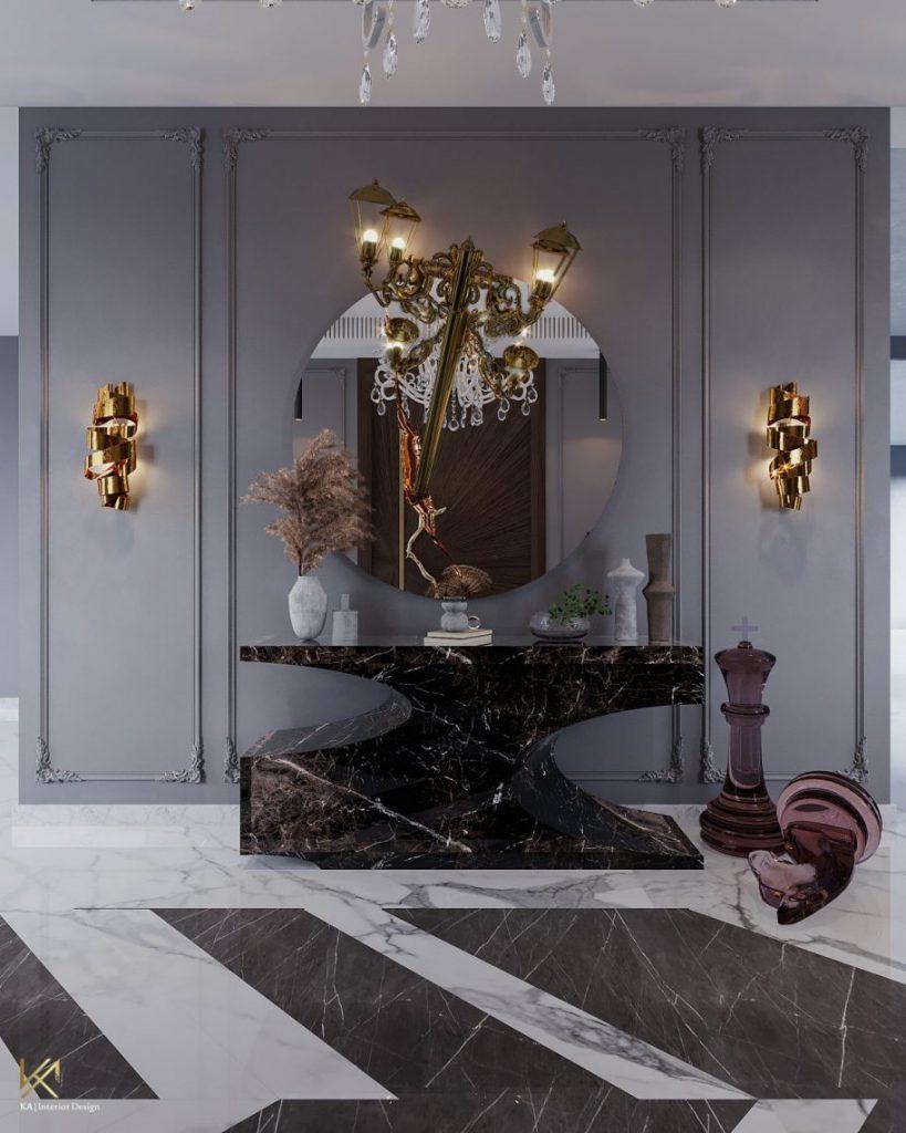 modern classic villa Covet House x K.A Interior Design: Step Inside This Modern Classic Villa 3 4 scaled