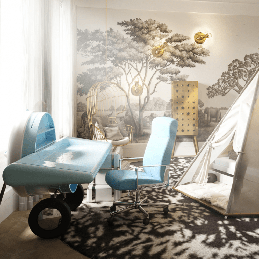 britto charette Britto Charette: Luxury Kids Room Project 6