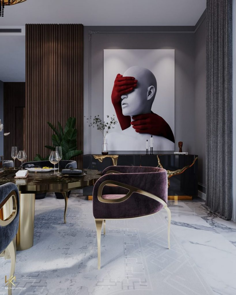 modern classic villa Covet House x K.A Interior Design: Step Inside This Modern Classic Villa 7 3 scaled
