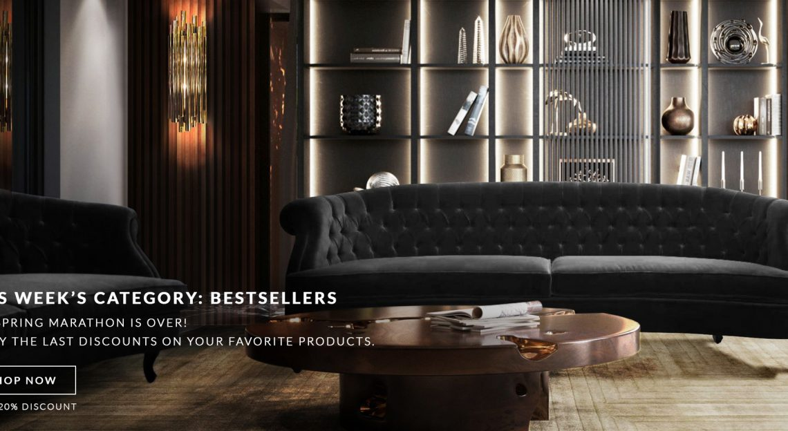 Luxury Furniture Best Sellers: Special Discounts Only This Week! BANNER LOJA ONLINE W24 1140x624