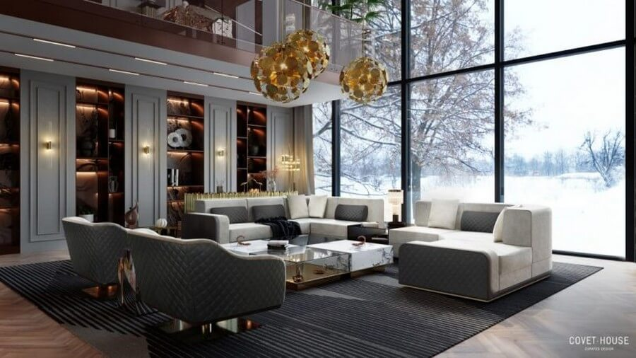 Be Inspired By The Most Stunning Living Room Stettings