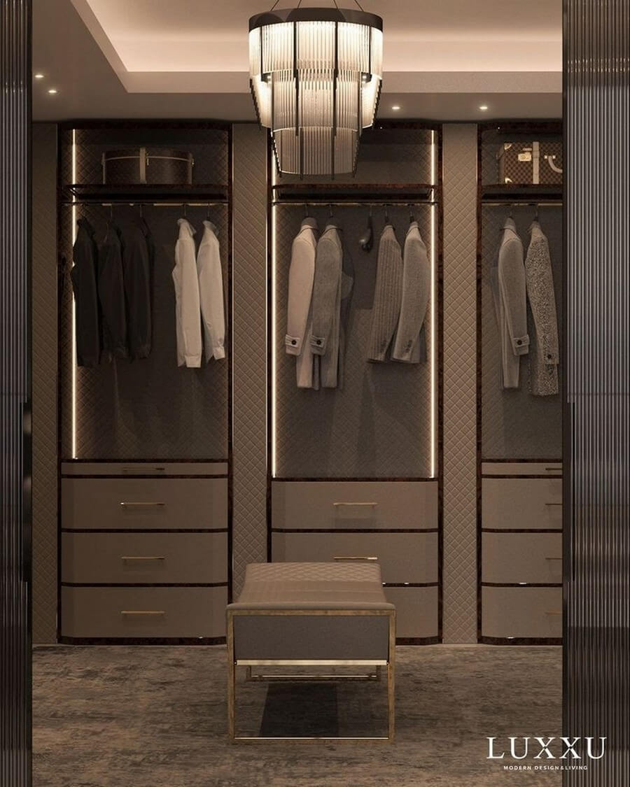 Jaw-Dropping Walk-in Closets That will Make you Fall in Love walk-in closet Jaw-Dropping Walk-in Closets That will Make you Fall in Love Jaw Dropping Walk in Closets That will Make you Fall in Love 5