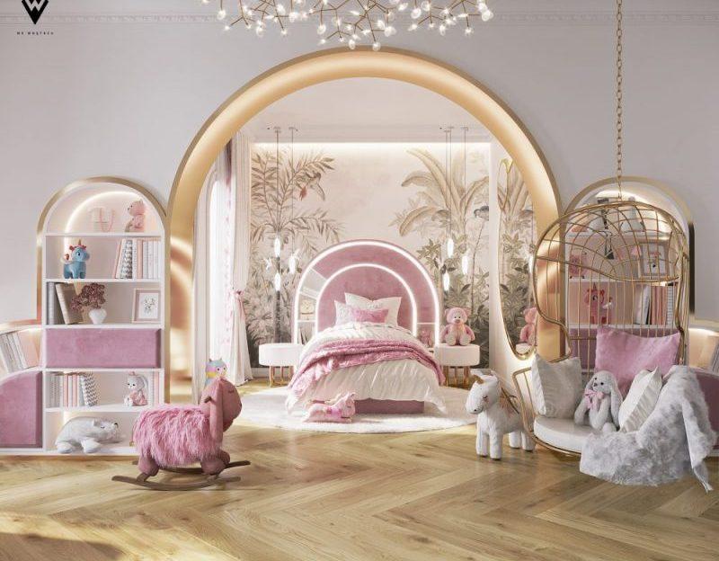 girls luxury bedroom Girls Luxury Bedroom: A We Wnętrzu and Circu Dreamy Creation girls luxury bedroom wne  trzu creation 1 800x624