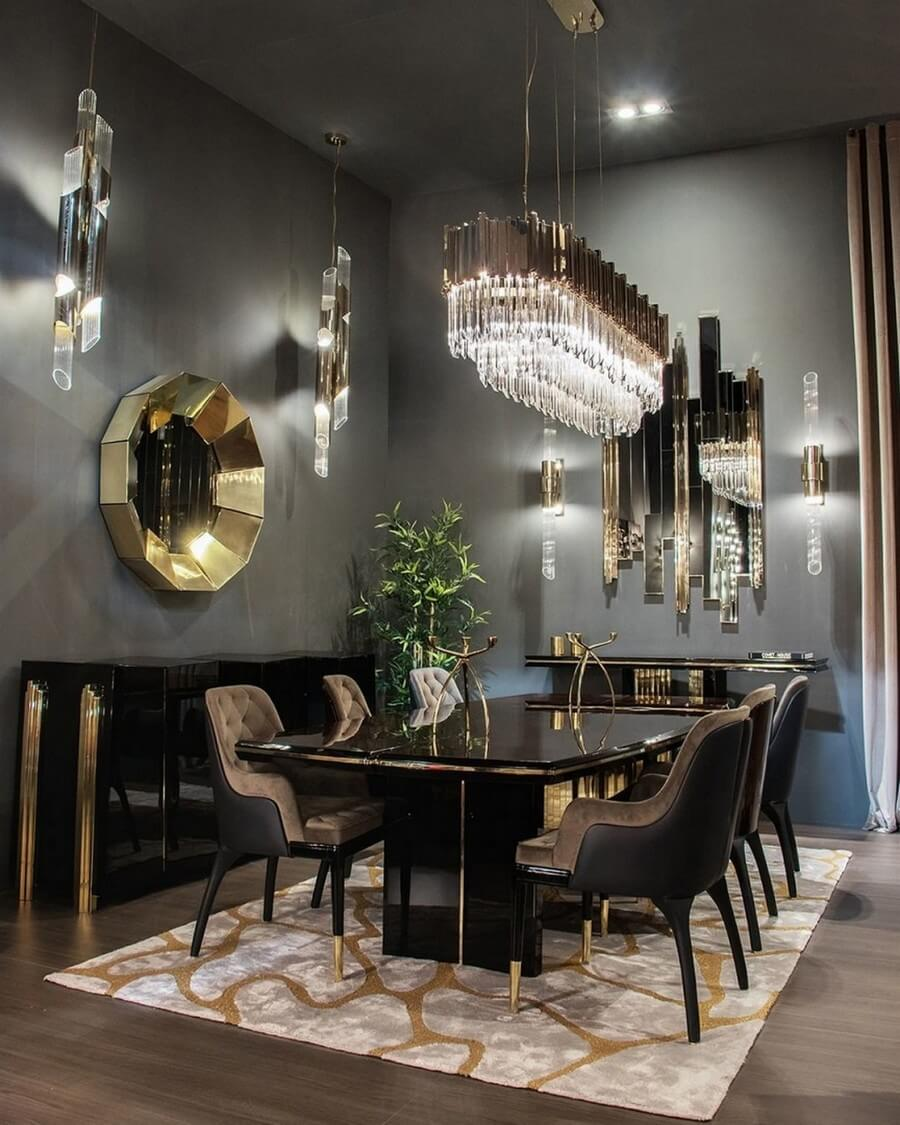 luxury dining rooms luxury dining rooms Searching For Inspiration? Here Are Our Favorite Luxury Dining Rooms luxury dining rooms 1