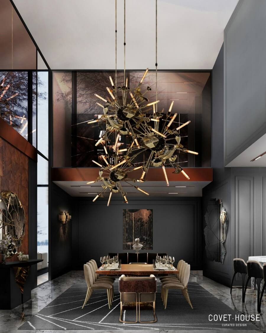 luxury dining rooms luxury dining rooms Searching For Inspiration? Here Are Our Favorite Luxury Dining Rooms luxury dining rooms 10