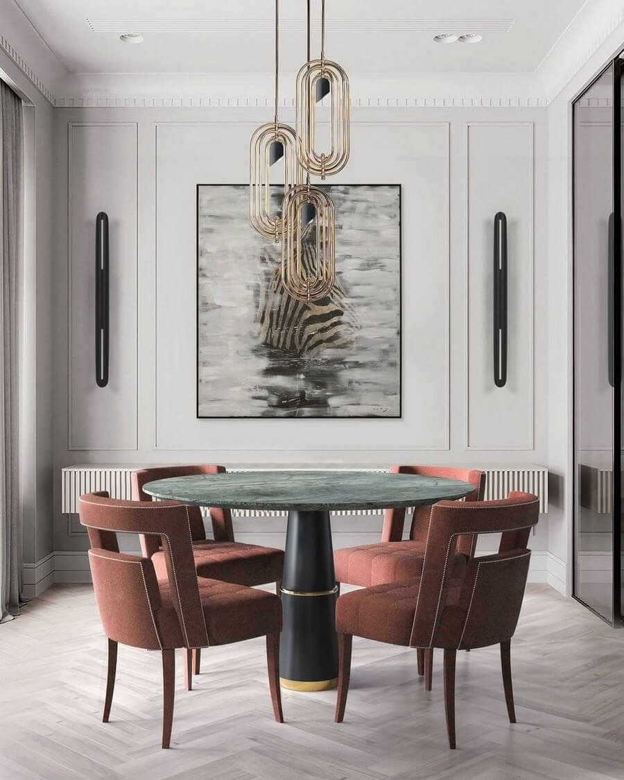 luxury dining rooms luxury dining rooms Searching For Inspiration? Here Are Our Favorite Luxury Dining Rooms luxury dining rooms 11