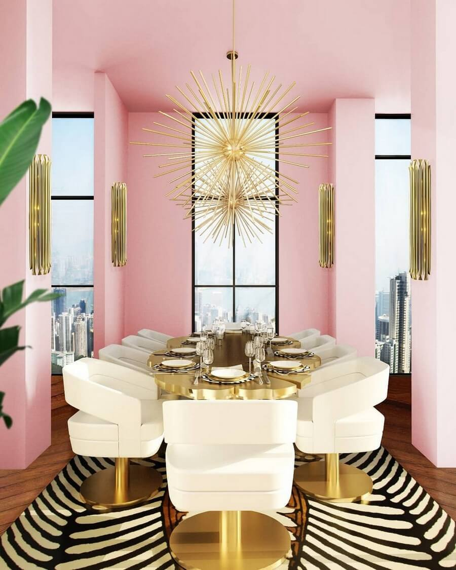 luxury dining rooms luxury dining rooms Searching For Inspiration? Here Are Our Favorite Luxury Dining Rooms luxury dining rooms 12
