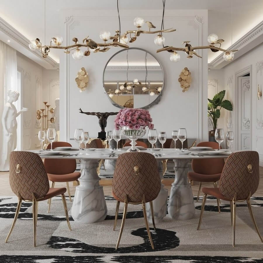 luxury dining rooms luxury dining rooms Searching For Inspiration? Here Are Our Favorite Luxury Dining Rooms luxury dining rooms 5