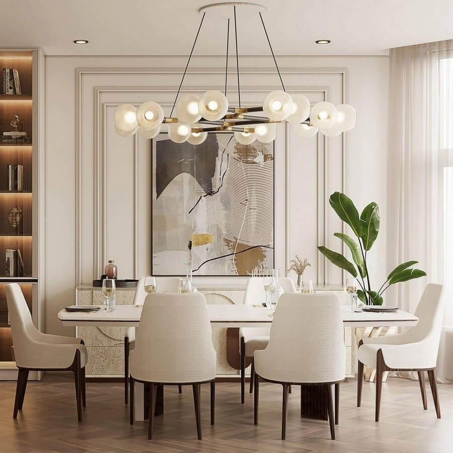 luxury dining rooms luxury dining rooms Searching For Inspiration? Here Are Our Favorite Luxury Dining Rooms luxury dining rooms 6