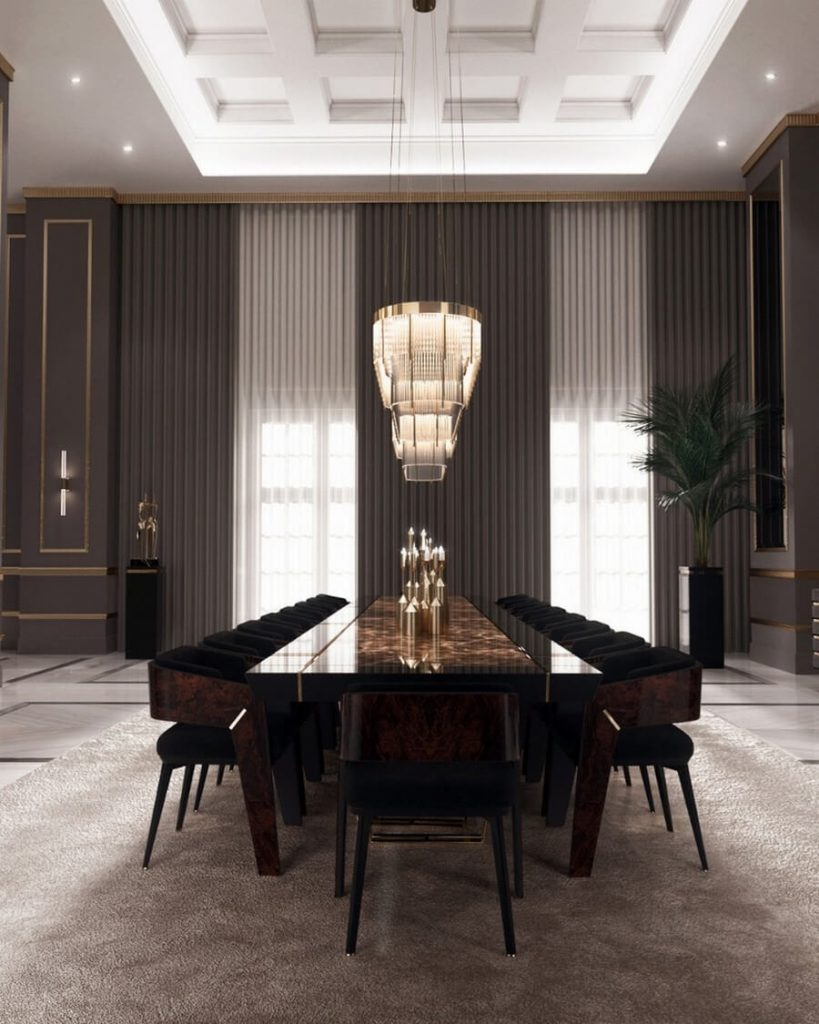 luxury dining rooms luxury dining rooms Searching For Inspiration? Here Are Our Favorite Luxury Dining Rooms luxury dining rooms 7