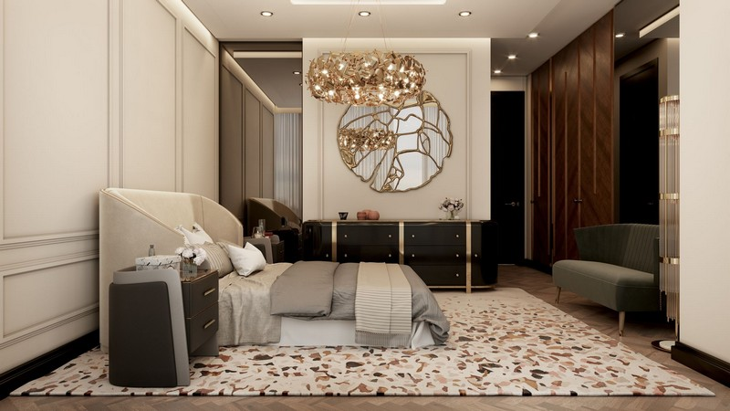 Millionaire's Modern Apartment in NYC neutral palette luxury meet nyc modern apartment 12