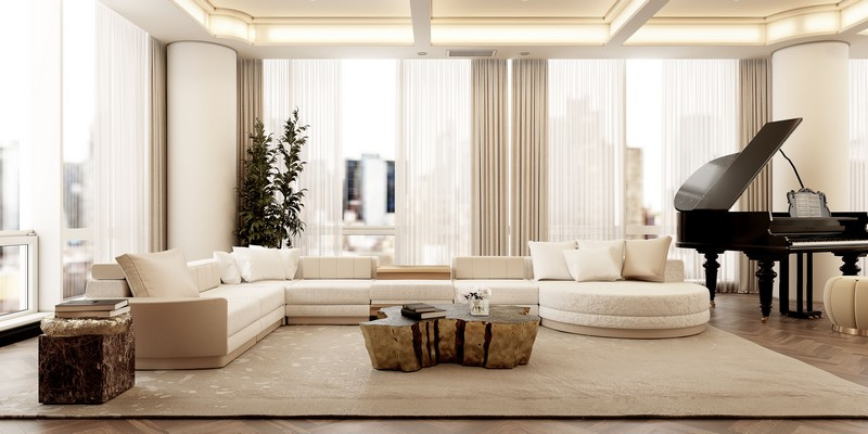 Neutral Palette And Luxury Meet In This NYC Modern Apartment modern apartment Neutral Palette And Luxury Meet In This NYC Modern Apartment neutral palette luxury meet nyc modern apartment 4