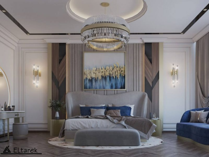 modern classic bedroom Be Amazed By This Modern Classic Bedroom 1 5 800x602