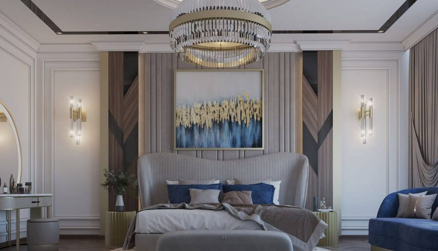 modern classic bedroom Be Amazed By This Modern Classic Bedroom 1 5 900x516