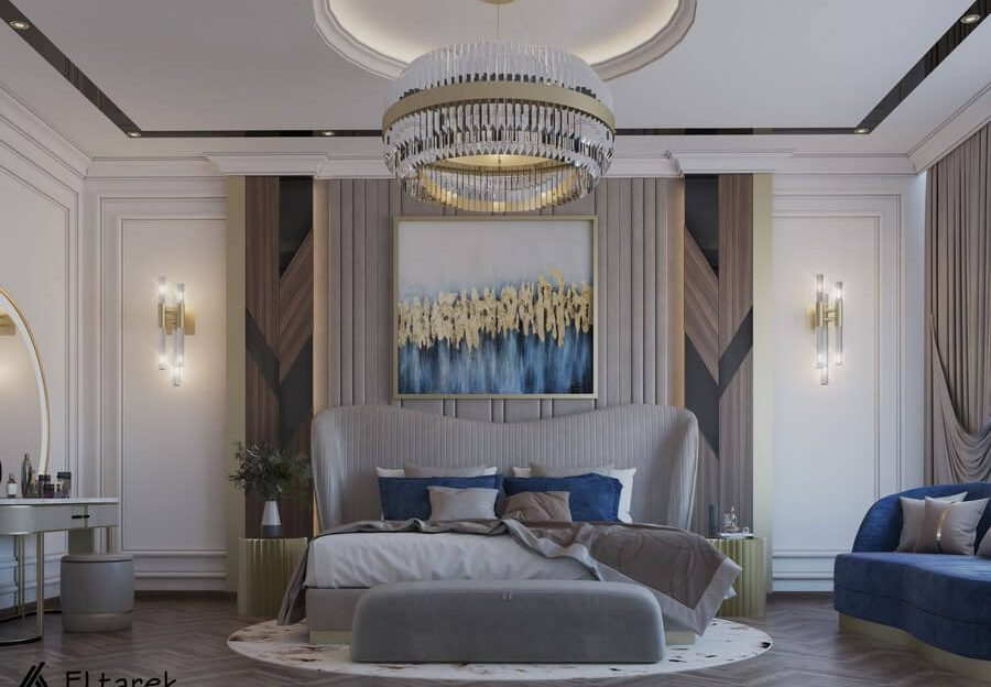 modern classic bedroom Be Amazed By This Modern Classic Bedroom 1 5 900x624