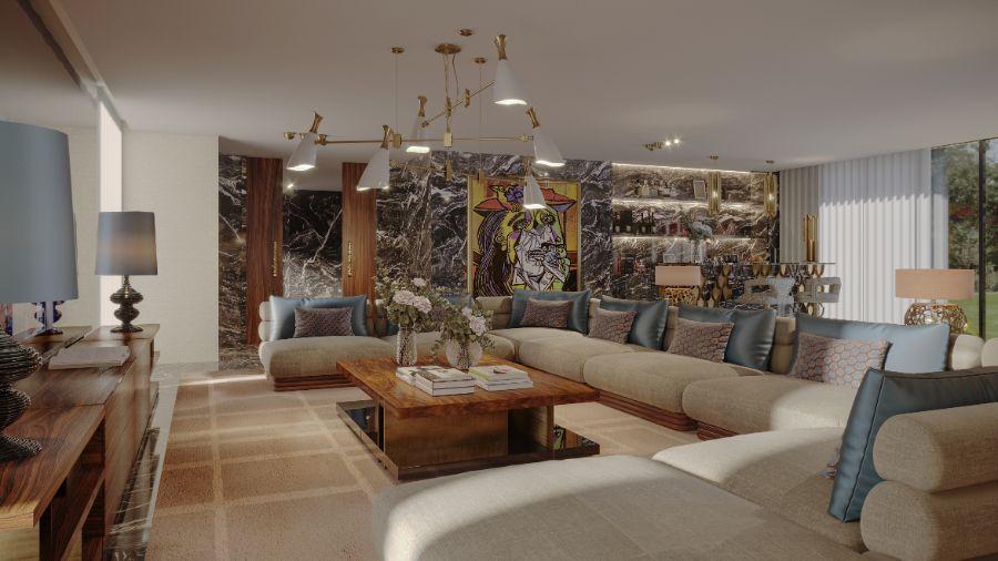 La Finca: Modern Contemporary Artful Home In Madrid