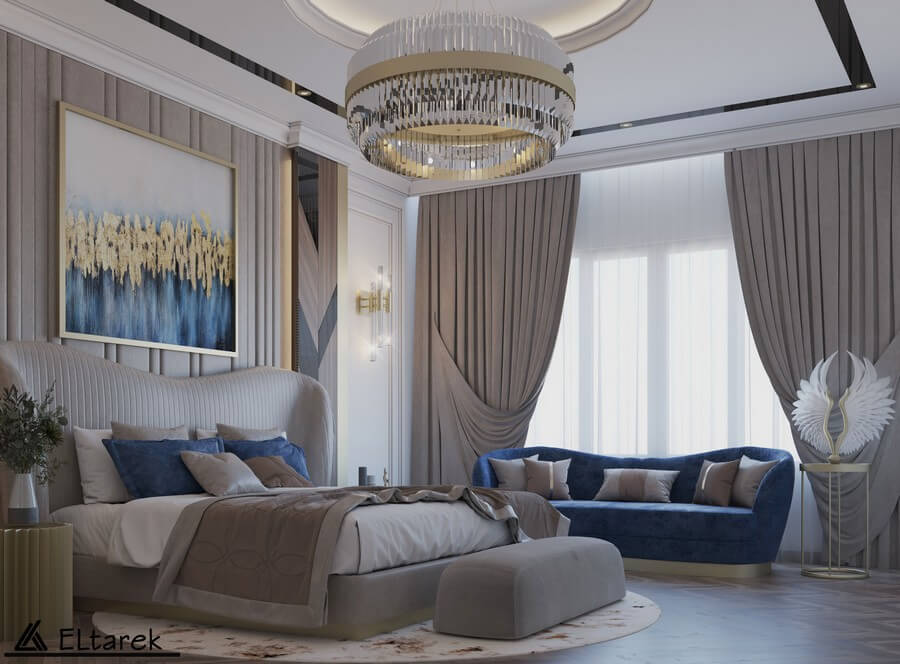 Be Amazed By This Modern Classic Bedroom