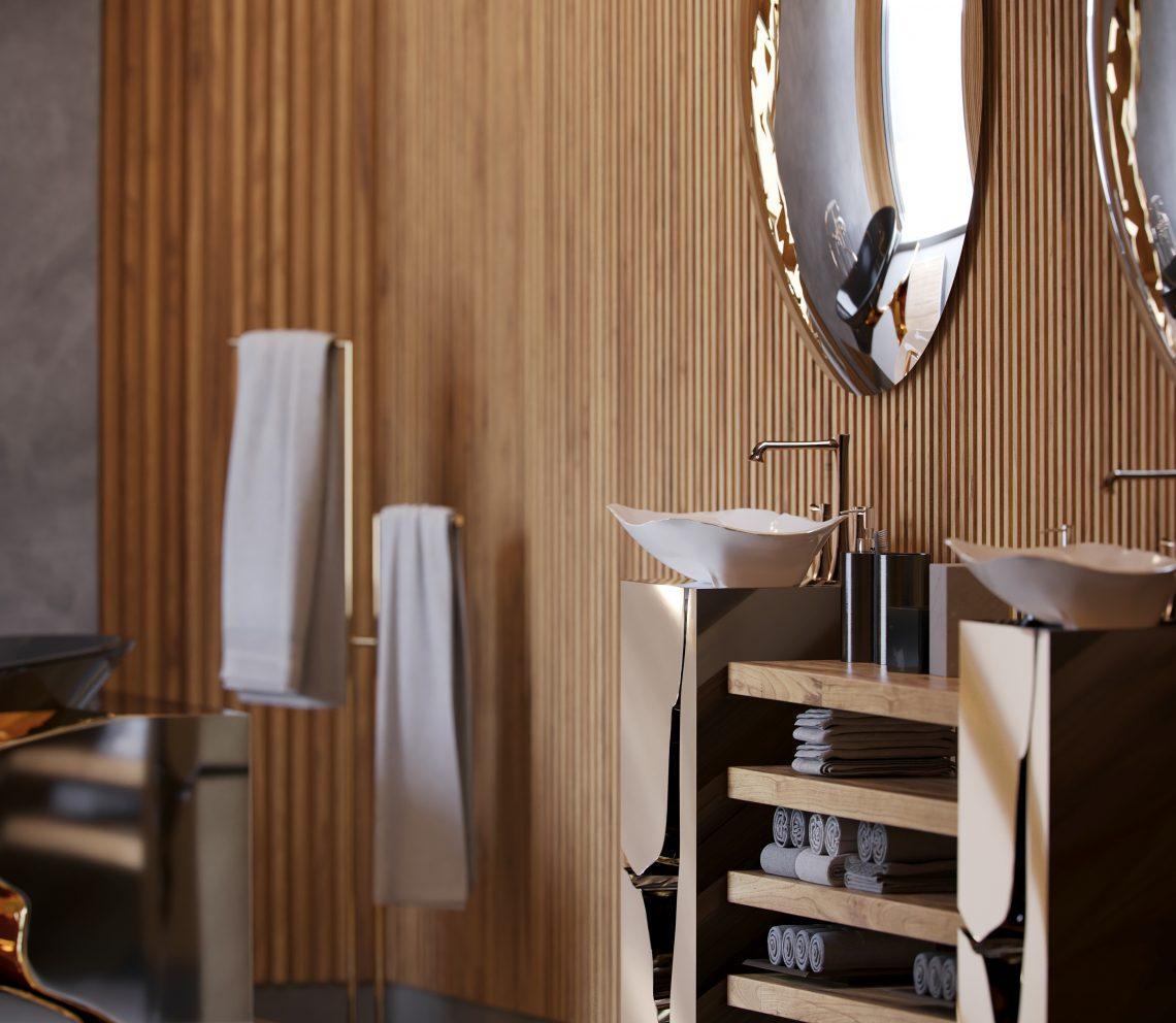 Contemporary Master Bathroom By Natan Argente