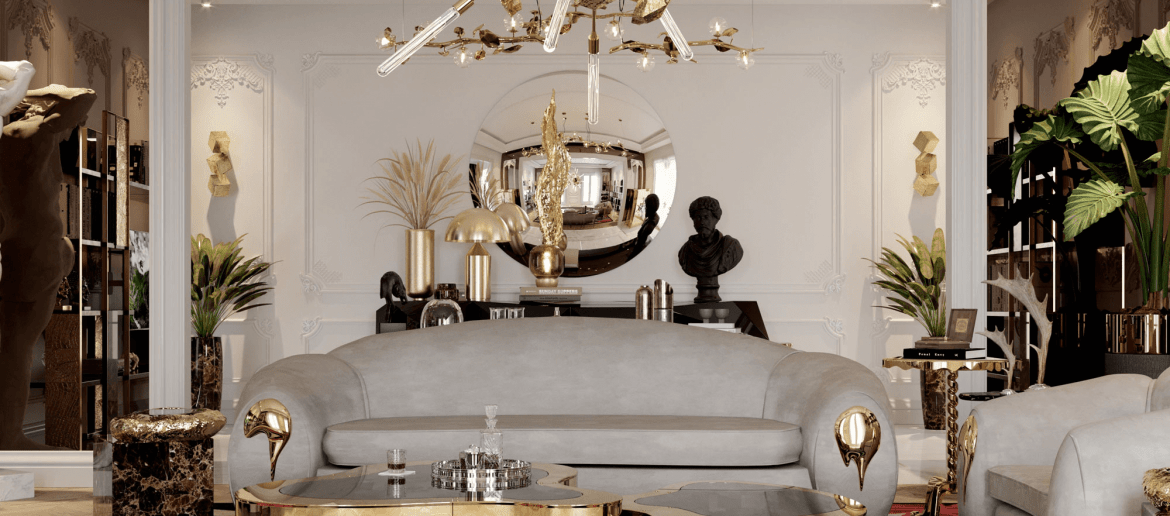 lighting collection Brighten Up Your Space: The Ultimate Lighting Collection wave hammered brass center table 03 zoom boca do lobo 1170x516