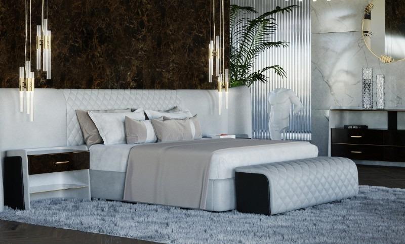 luxury bedroom A Luxury Bedroom That Combines Comfort and Design LUXXU 2