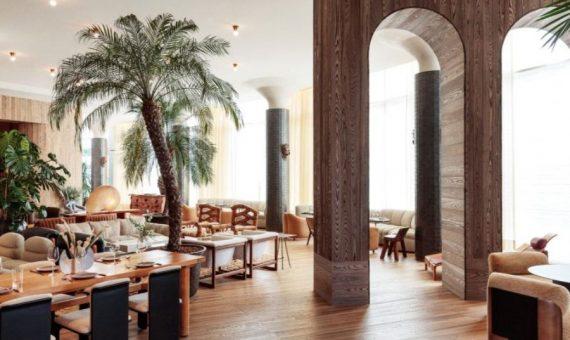 Hotel Interior Design Santa Monica Proper Kelly Wreastler Califormia dining area